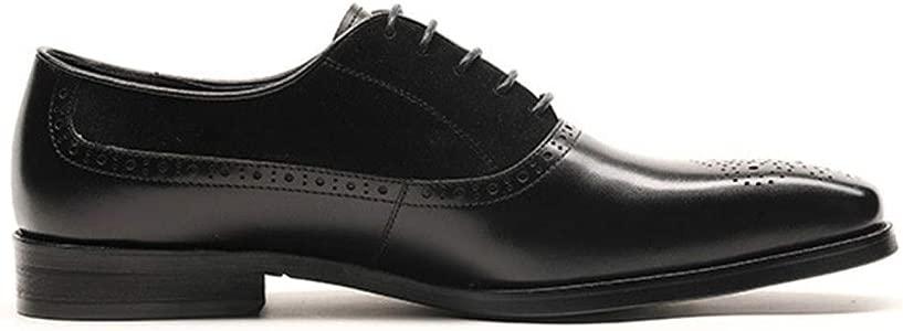 Zapatos Oxford para Hombre Comodidad Marrón De Trabajo con ...