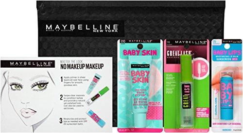 Maybelline New York NY Minute Makeup Kit, No Makeup Makeup Kit, Primer Gloss Mascara Makeup Set by Maybelline New York (Image #1)