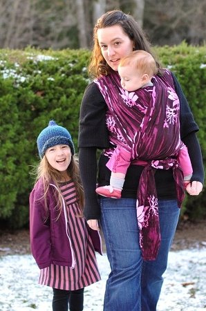 Wrapsody Stretch - Hybrid Wrap Rowan Baby Carrier - Gypsy Mama Wrap
