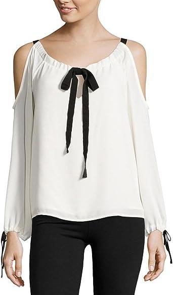 Camiseta de Manga Larga con Pajarita y Corbata de Moño para ...