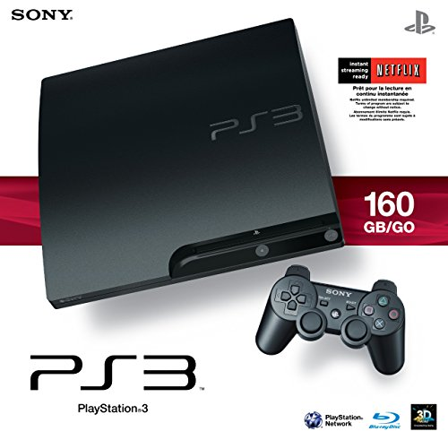 Sony Playstation 3 160GB System (Renewed)