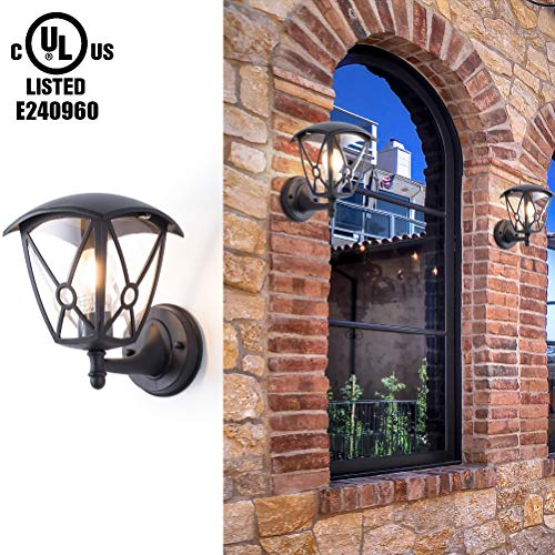 Outdoor Sconce Light Covers in US - 7