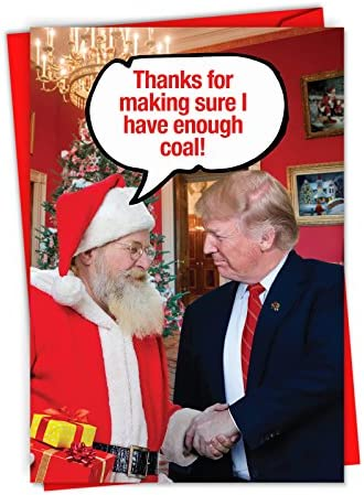 C6217XSG B12x1 Christmas Featuring President Envelopes