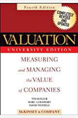 Valuation: Measuring and Managing the Value of Companies (Wiley Finance Book 296) Kindle Edition