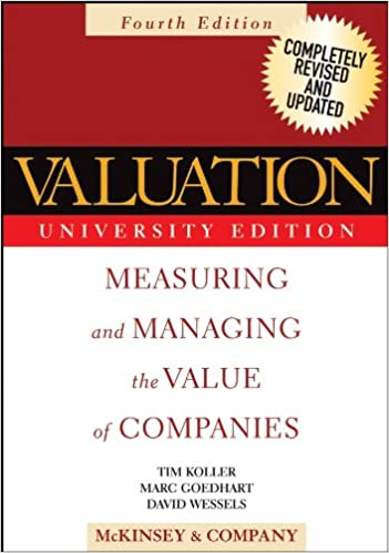 Amazon valuation measuring and managing the value of valuation measuring and managing the value of companies wiley finance 4th edition kindle edition fandeluxe Images