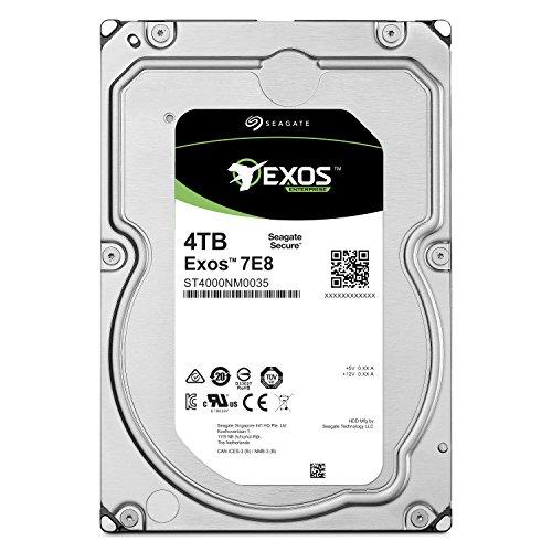 Seagate Exos 7E8 4TB 512n SATA 128MB Cache 3.5-Inch Enterprise Hard Drive (ST4000NM0035)