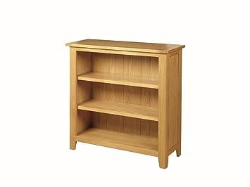 Bücherregal Niedrig niedrig und breit edmonton eiche bücherregal niedrig eiche farbe