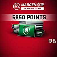 Madden NFL 19 MUT 5850 Points Pack (In Game) PS4 [Digital Code]