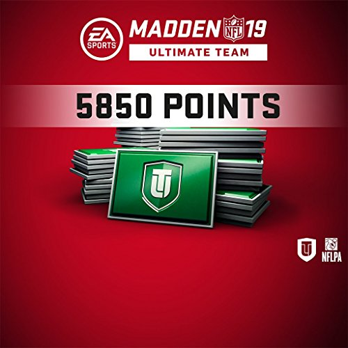 Madden NFL 19 MUT 5850 Points Pack (In Game) PS4 [Digital Code] by Electronic Arts