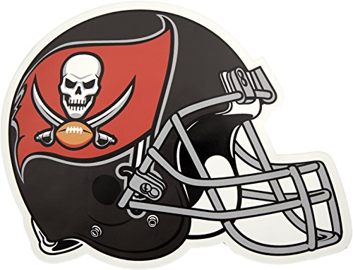 Applied Icon, NFL Tampa Bay Buccaneers Outdoor Small Helmet Graphic Decal