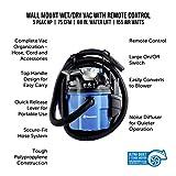 Vacmaster VWM510 5-Gallon 5 Peak HP Remote Control