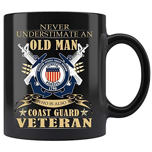 Guard Mug Coast (U.S Coast Guard Veteran Mug Coffee Mug 11oz Gift Tea Cups 11oz)