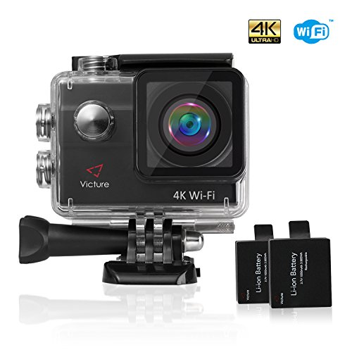 Action-Camera-4K-WIFI-Waterproof-Sports-Cam-20MP-Underwater-Diving-Camera-170-Wide-Angel-2-Inch-LCD-Display-with-2-Pcs-Rechargeable-Batteries-and-Accessories-Kits
