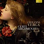 Certi argomenti | Giovanni Verga