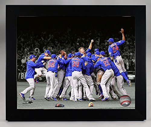 Framed Chicago Cubs -Spotlight Celebration!, 2016 World Series Champions! 8x10 Photo Picture