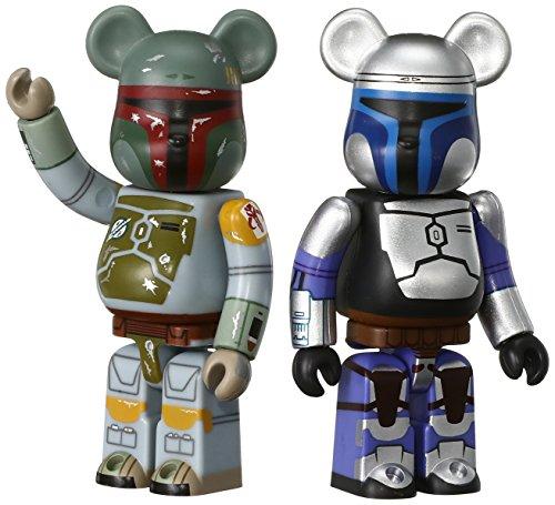 Orso Mattone Star Wars Confezione da 2 Jango Fett & Boba 70mm Dipinto Statuetta