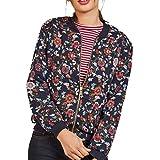 Women Coat,Haoricu 2017 Vintage Retro Women Fall Casual Zipper Blazer Jacket Coat Outwear (M, Black)
