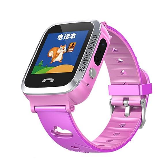 MINGRONG Reloj Inteligente para niños Tracker Reloj ...