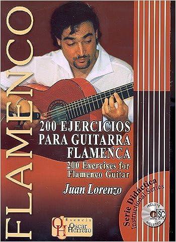 200 Ejercicios Para Guitarra Flamenca. 200 Exercises For Flamenco ...