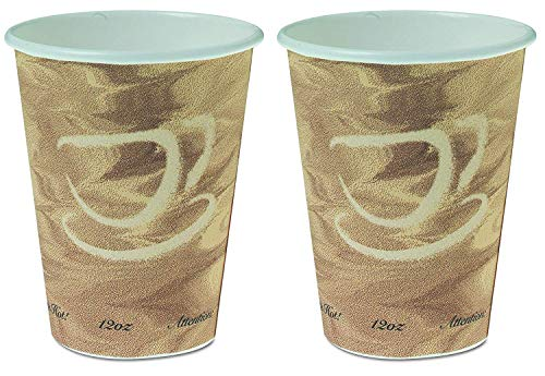 - Solo 12 Ounce Mistique 412MSN-0029 Paper Hot Cup. Pack of 200