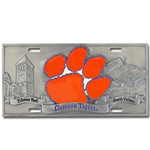 Clemson Tigers College Collector's Plate