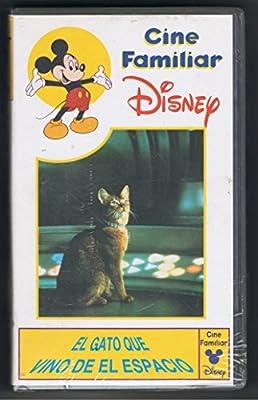 El gato que vino del espacio videoc.f. [VHS]: Amazon.es: Cine y Series TV