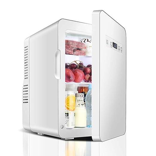 JU FU Mini nevera Refrigerador del automóvil-22L Refrigerado ...