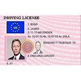 High 5 Novelty James Bond Driving License - Keyring