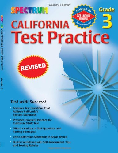 Spectrum State Specific: California Test Practice, Grade - Spectrum The California