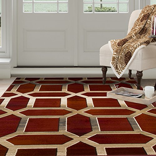 Lavish Home Opus Art Deco Area Rug, 5'3