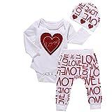 Malada 1Set Baby Sweatshirt Tops+Long Pants Outfits Clothes