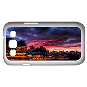 Pontocho_Kyoto (Modern Series) Watercolor style - Case Cover For Samsung Galaxy S3 i9300 (White)