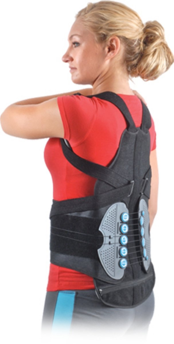 Extension Orthosis TLSO Back Brace, Small