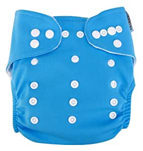 Trend Lab Cloth Diaper, Turquoise with White Liner