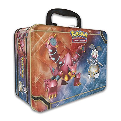 (Pokemon 2016 Collectors Chest Treasure Tin: Volcanion, Magearna and Shiny Mega Gengar-EX)