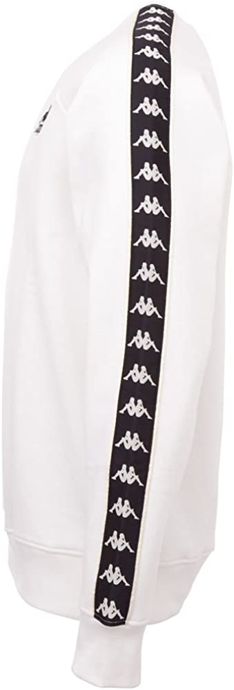 Kappa Herren Daiki Sweatshirt 160 Vanilla