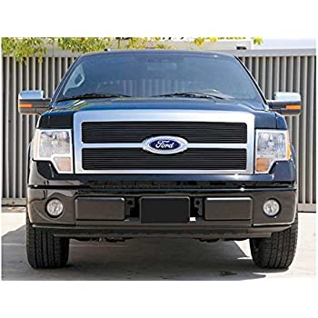 Ferreus Industries Grille Insert Guard Horizontal Flame Polished Stainless fits 2003-2005 Dodge Ram 2500 TRK-113-05-Chrome-b
