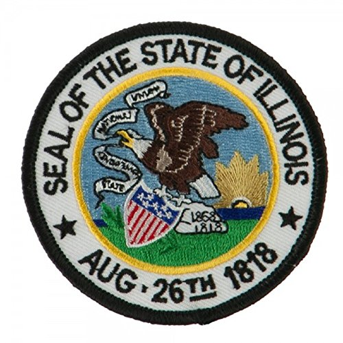 State Seal Buttons - State Seal Patch Round 3