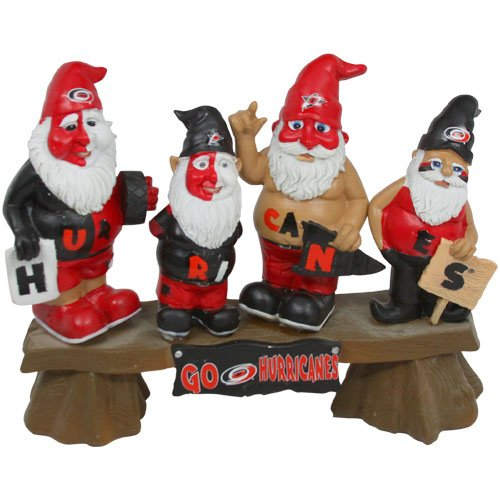 FOCO Carolina Hurricanes Fan Gnome Bench by FOCO