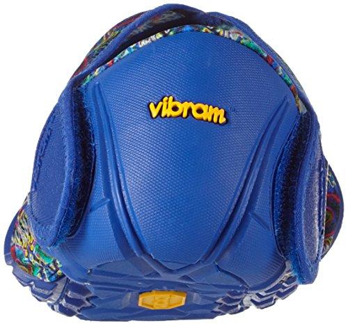 Adultes Unisexes Basses Furoshiki Multicolore Vibram Original fleur Fivefingers Baskets Bleue Pour wqUYAF