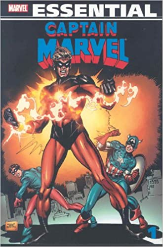 Amazon Essential Captain Marvel Vol 1 Marvel Essentials V