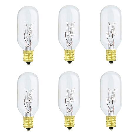 Amazon.com: Bombilla incandescente de 25 W y lámpara de sal ...