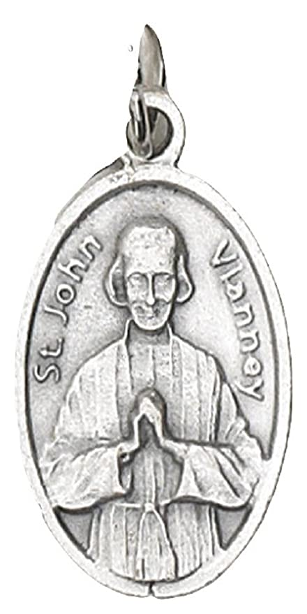 Amazon.com: Medalla de San Juan Vianney: Sports & Outdoors