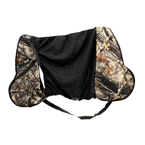 MagiDeal Deluxe Compound Bow Carrier Bow Bag/Case Archery Hunting Camo Pouch Holder
