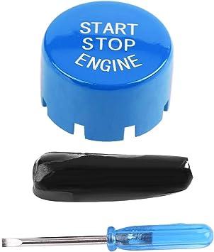 Motorstart Stopp Taste Automotor One Button Starttaste Für F30 G F Diskette Mit Start Und Stopp Blue Auto