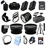 ULTRA PROFESSIONAL ACCESSORY PACKAGE: for Sony Alpha A3000 Digital Camera