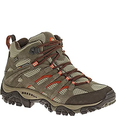 Merrell Women's Moab Mid Waterproof Wide hiking Boot