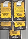 Supersafe Stamp Hinges FIVE Pack -- Total of 5000 Hinges