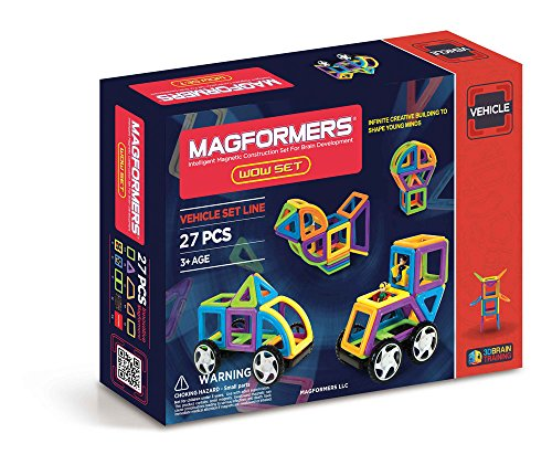 Magformers Vehicle Wow Set 27 pieces