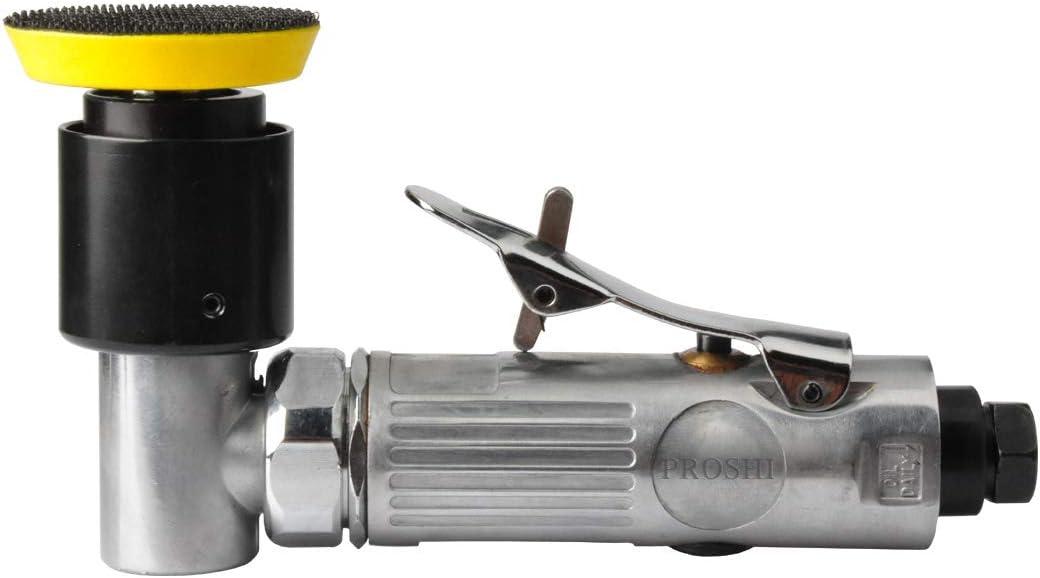pneumatic sander for auto sanding tools PROSHI 2 and 3 angle orbital sander dual-action polisher angle head for tight work areas 3-inches random orbital air sander